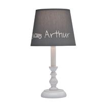 Tafellamp Classic Wit (gepersonaliseerd)