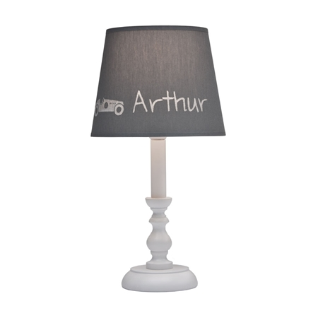 My Little Lamp Tafellamp Classic Wit (gepersonaliseerd)