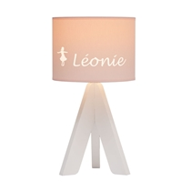 Tafellamp Tripod Wit (gepersonaliseerd)