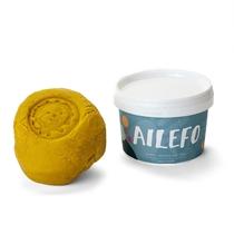Organische speelklei  Geel 540 gram