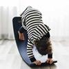 Wobbel Pro Balance Board Blank gelakt  Vilt Muis