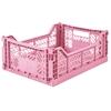 Ay-Kasa Opvouwbaar kratje Midi Pink