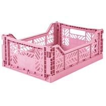 Opvouwbaar kratje Midi Pink