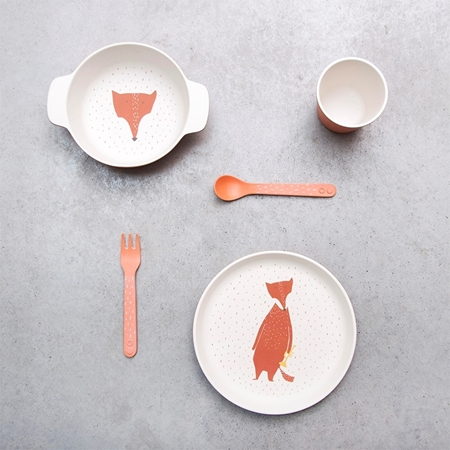 Trixie Eetsetje Bamboo Mr. Fox