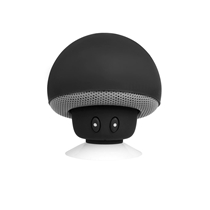 Bluetooth Champignon Speaker Black