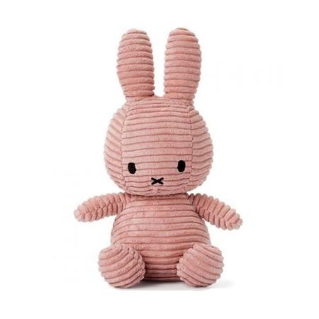 Nijntje - Miffy Nijntje Corduroy Pink 23cm