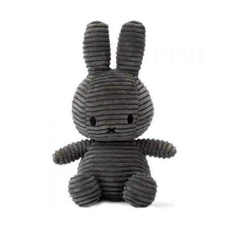 Nijntje - Miffy Nijntje Corduroy Grey 23cm