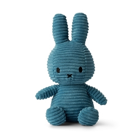 Nijntje - Miffy Nijntje Corduroy Blue 23cm