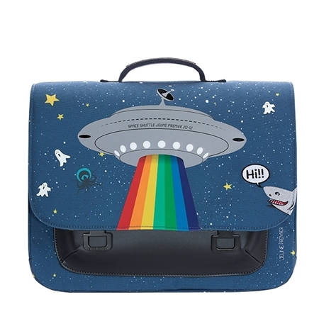 Jeune Premier Boekentas it Bag Midi Space Rainbow