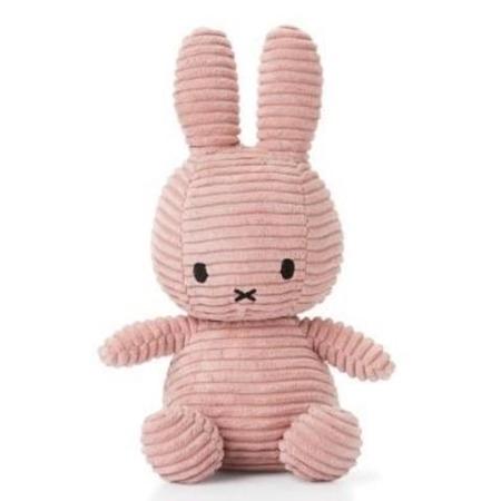 Nijntje - Miffy Nijntje Corduroy Pink 50cm