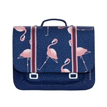 Boekentas it Bag Midi Flamingo