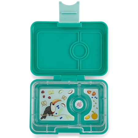 Yumbox Mini snack Kashmir Blue