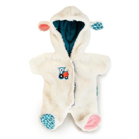 Lilliputiens Poppen onesie schaap