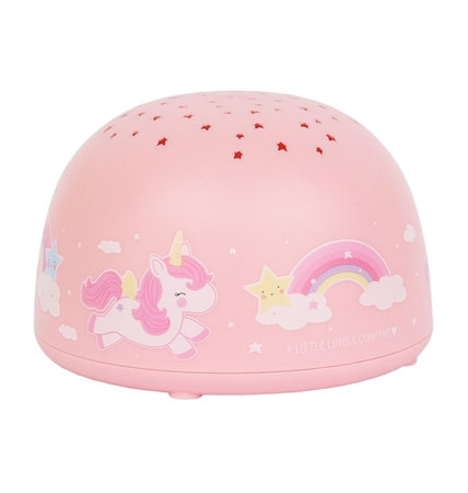 A Little Lovely Company Unicorn Projectie lamp