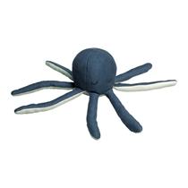 Knuffel met rammelaar Bleu Octopus