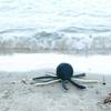 Fabelab Knuffel met rammelaar Bleu Octopus
