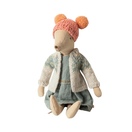 Maileg Winter mouse medium girl