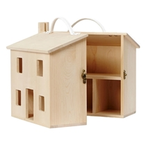 Holdie House Poppenhuis hout