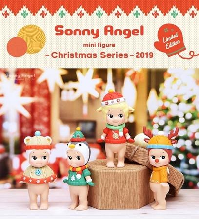Sonny Angel Gelukspoppetje Christmas 2019