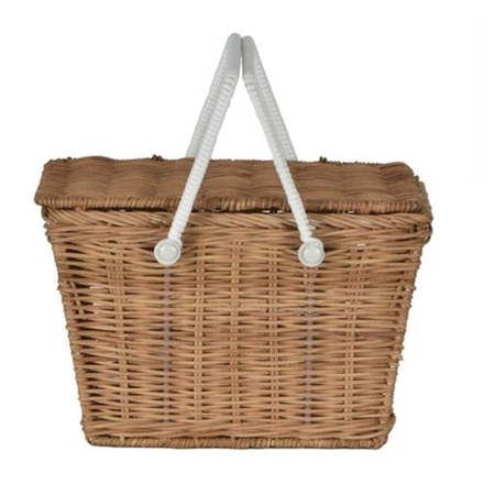 Olli Ella Rieten picnick mandje Piki naturel