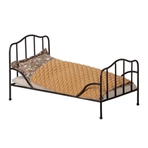 Vintage bed zwart
