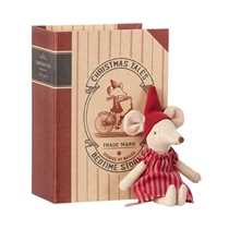Christmas Mouse in Book