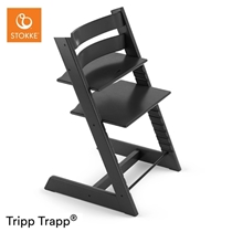 Tripp Trapp Kinderstoel Zwart