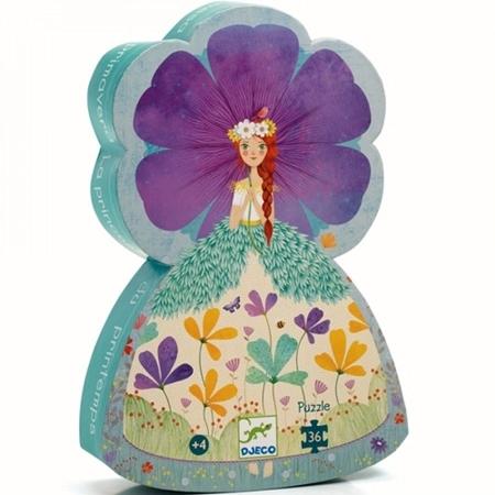 Djeco Puzzel De prinses van de lente 36st