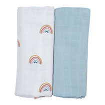 Swaddle doeken 120x120 Rainbow