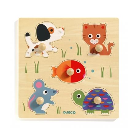 Djeco Inleg puzzel Bulle & Co