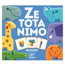 Ze Totanimo Blocks Stapelspel (+2j)