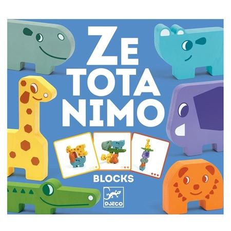 Djeco Ze Totanimo Blocks Stapelspel (+2j)