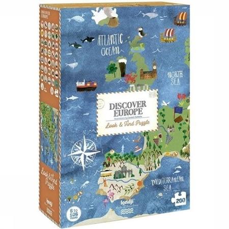 Londji Discovery the world puzzel 200st