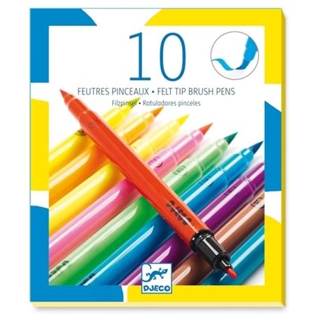 Djeco 10 Viltstiften - Pop
