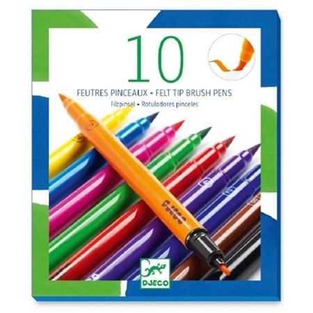 Djeco 10 Viltstiften - Classic