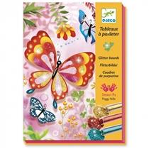 Glitterkunst Butterfly
