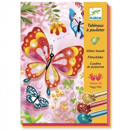 Djeco Glitterkunst Butterfly