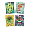 Djeco Foamstickers Monsters