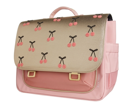 Jeune Premier Boekentas it Bag Midi Cherry Pompon