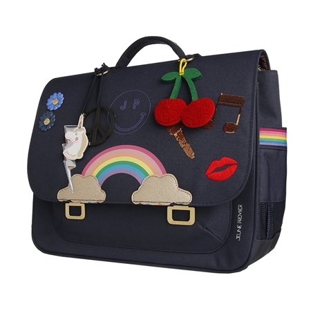 Jeune Premier Boekentas it Bag Midi Lady Gadget Blue