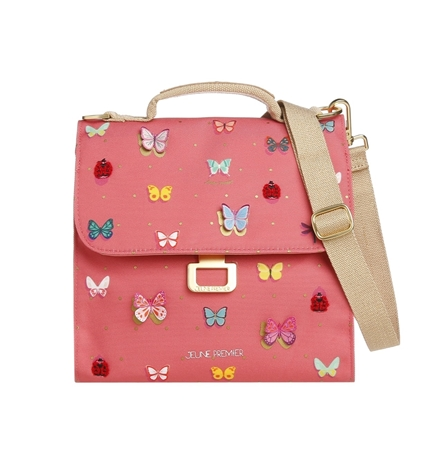 Jeune Premier Lunch Bag Butterfly Pink
