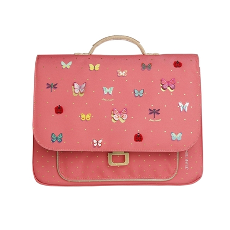 Jeune Premier Kleuterboekentas Mini Butterfly Pink