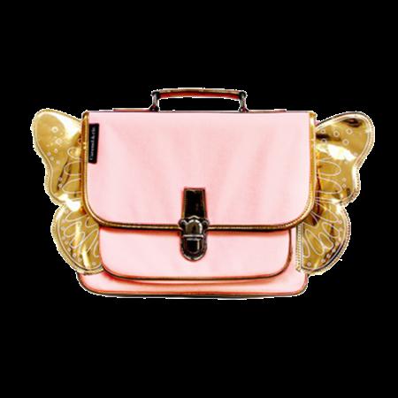 Caramel & Cie Kleuterboekentas Vleugels Roze