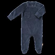 Pyjama met voetjes Indigo Velours
