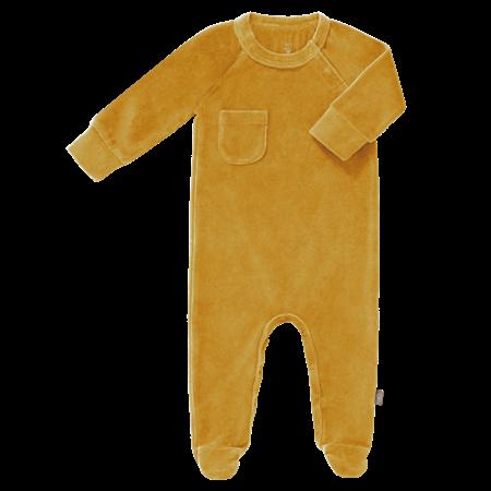 Fresk Pyjama met voetjes Mimosa Velours