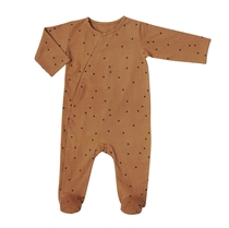 Babysuit Dots Nut