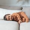 Little Bonjour Babysuit Dots Nut