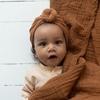 Little Bonjour Babymust Turban Beanie Nut