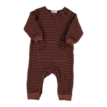 Playsuit Striped fleece tile