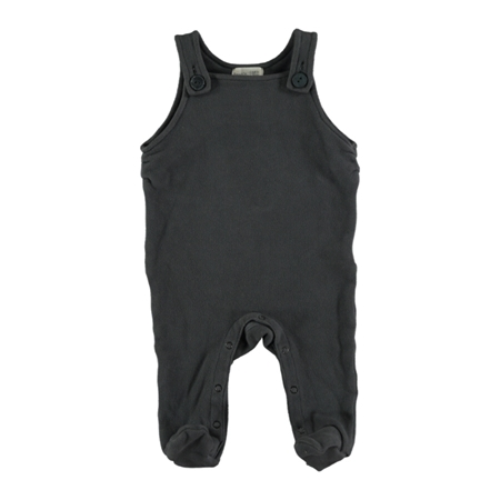 Beans Barcelona Playsuit Velour Anthracite